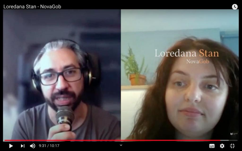 Entrevista a Loredana Stan (NovaGob) para el Manifiesto