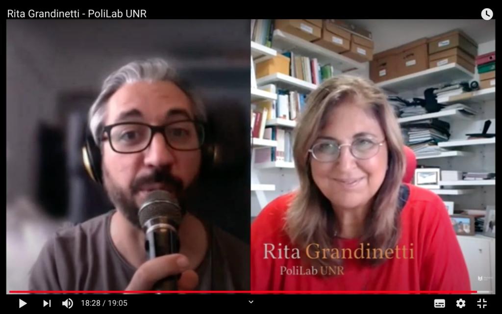 Entrevista a Rita Grandinetti (PoliLab UNR) para el Manifiesto