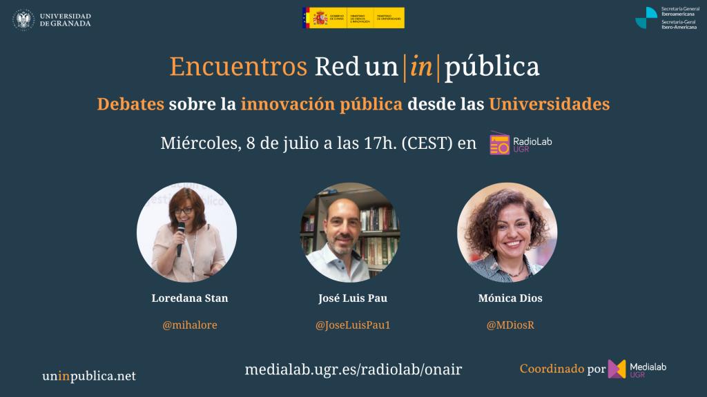 Encuentros UnInPública 02 en RadioLab UGR
