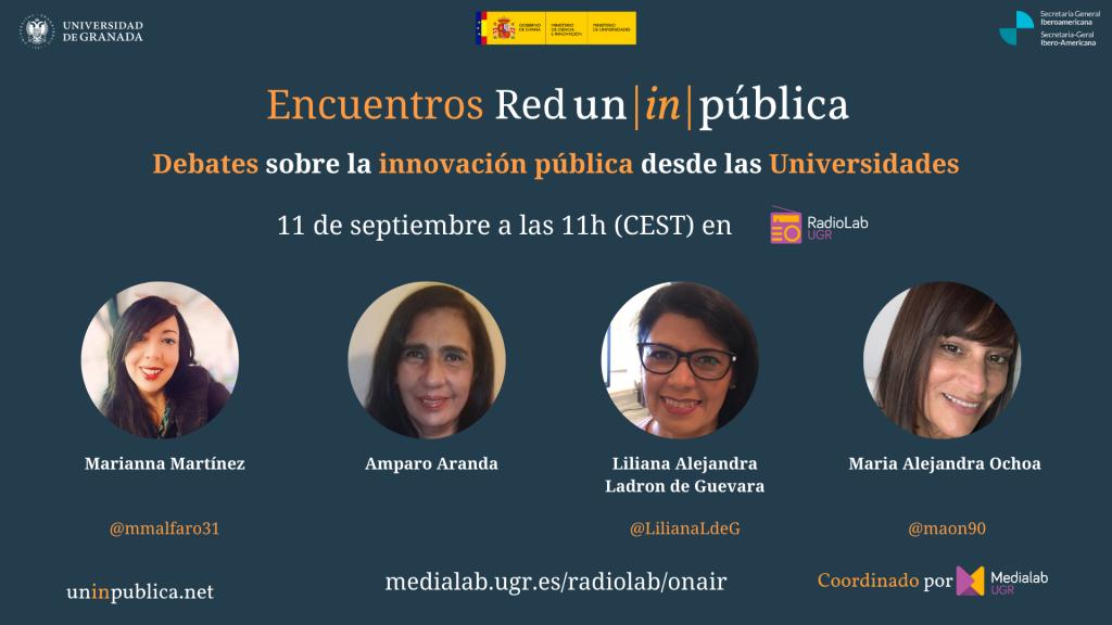 Encuentros #UnInPública 04 – Innovación y género